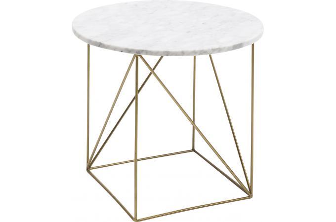 Table D Appoint Marbre.Table D Appoint Marbre Blanc Giordano