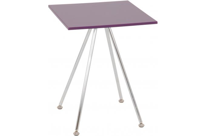 Table d'appoint mauve MINRA