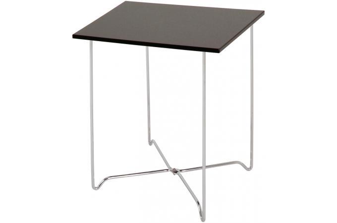 Table d 39 appoint noire talia design pas cher sur sofactory - Table d appoint noire ...