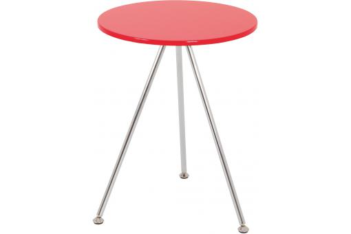 Table d'appoint rouge BALORI