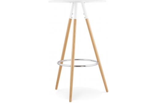 Table De Bar Scandinave Blanche RONAN KO190758-0000