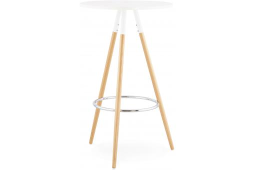 Table De Bar Scandinave Blanche RONAN SoFactory