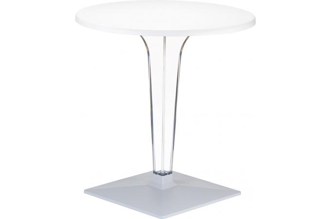Table design blanche IRMA