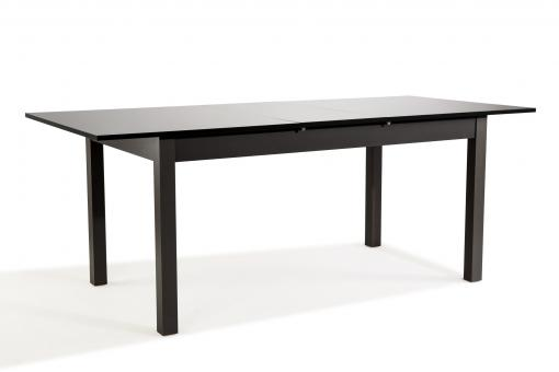 Table Extensible Noir Laqué GUARANA So295113-0000