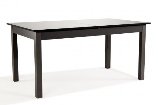 Table Extensible Noir Laqué GUARANA SoFactory