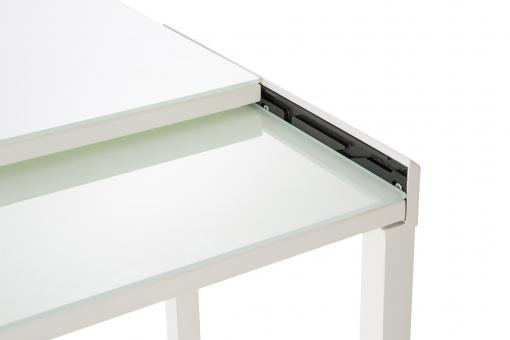 Table extensible Verre Blanc So295161-0000