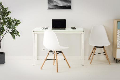 Table extensible Blanc So295161-0000