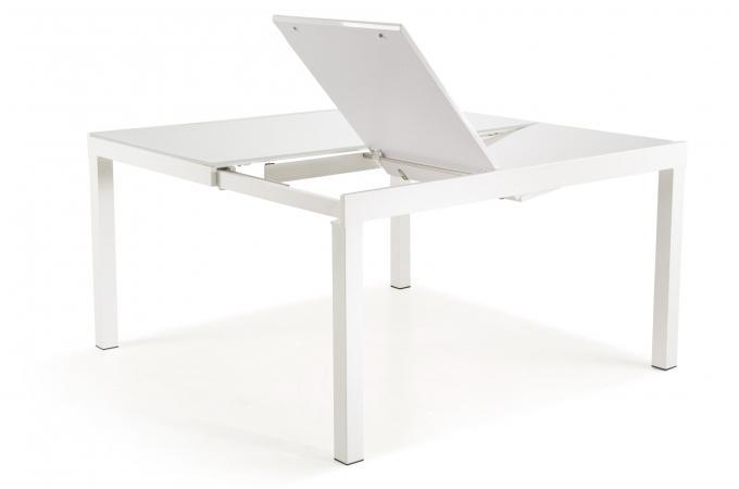 Verre Vargas Extensible Blanc Table Design Sur Sofactory j34A5RLq