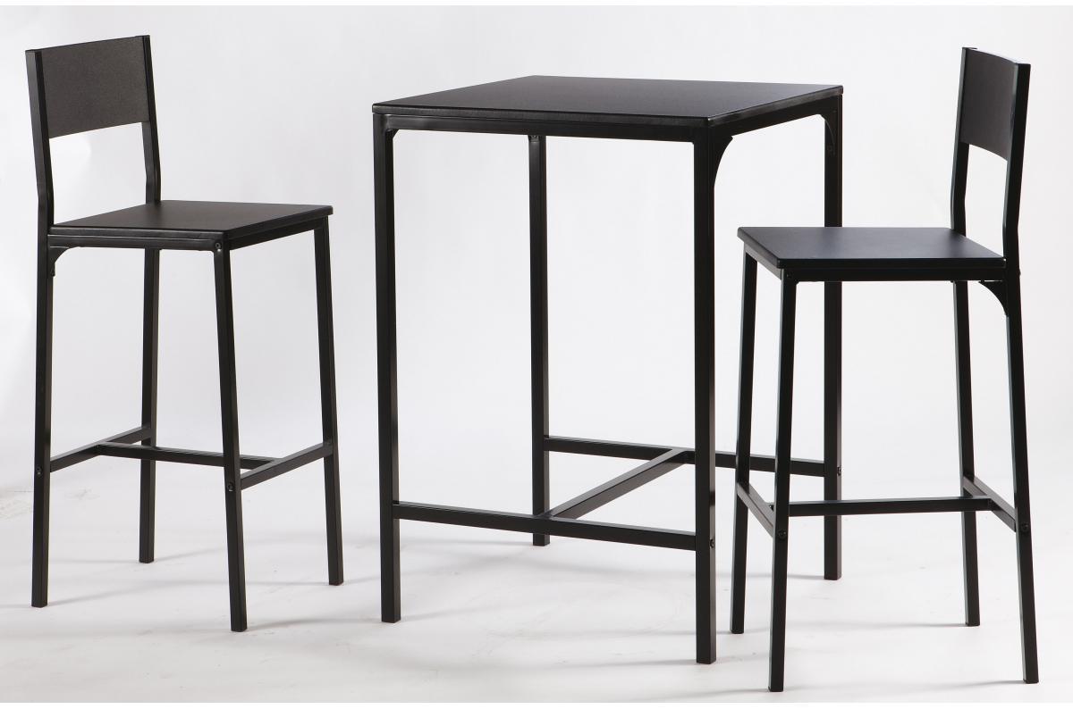 SoFactory haute FUNKY avec 2 chaises design Table sur XuZPkiTO