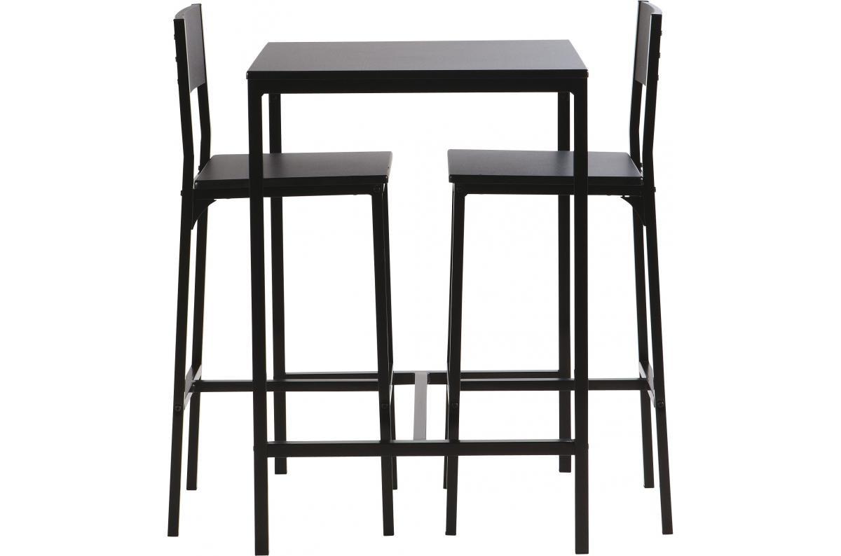 Table haute avec 2 chaises FUNKY