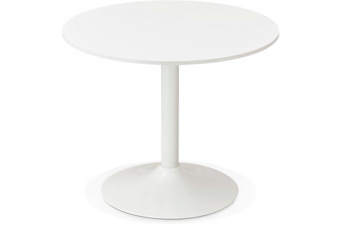 Table ronde bois blanche d90 dakota design sur sofactory - La table ronde vinon sur verdon ...