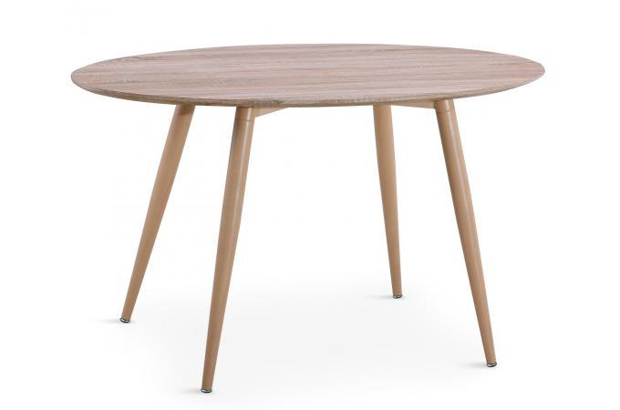 Table Ovale Scandinave Effet Chêne MAEL design sur SoFactory 515c4f611223