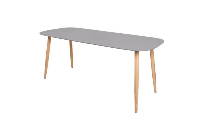 table scandinave extensible gris spota design sur sofactory. Black Bedroom Furniture Sets. Home Design Ideas