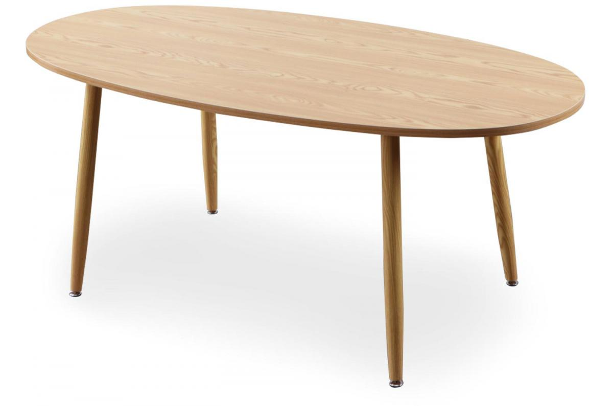 Table Scandinave Ovale Beige NAWAL SoFactory