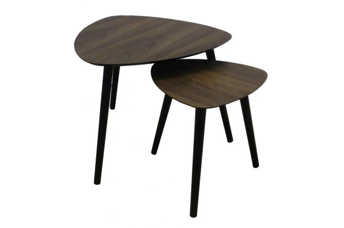 Tables Gigognes En Bois Marron Ibiza Design Sur Sofactory