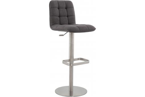 Tabouret assise capitonnée anthracite KELLY SoFactory