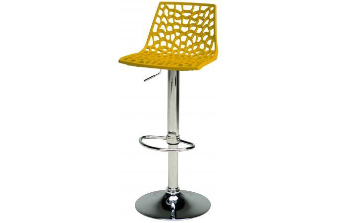 tabouret de bar design jaune smart design sur sofactory. Black Bedroom Furniture Sets. Home Design Ideas