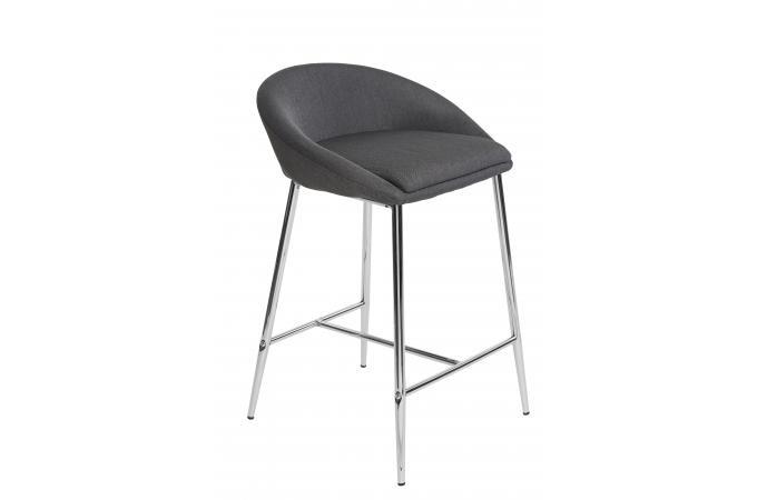 Tabouret de bar gris comete design pas cher sur sofactory - Tabouret de bar gris pas cher ...