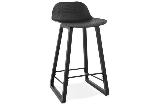 nouveau concept 615d3 ffb75 Tabouret de Bar Noir JUMILLA