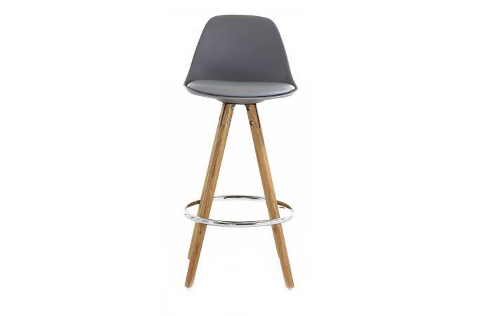 tabouret de bar scandinave gris terri design sur sofactory. Black Bedroom Furniture Sets. Home Design Ideas