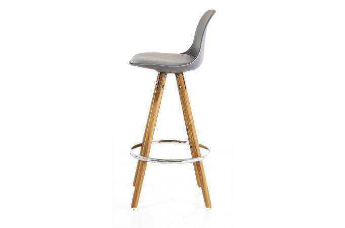 tabouret de bar scandinave gris terri design sur sofactory. Black Bedroom Furniture Sets. Home Design Ideas