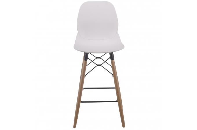 tabouret de bar scandinave blanc maxara design sur sofactory. Black Bedroom Furniture Sets. Home Design Ideas
