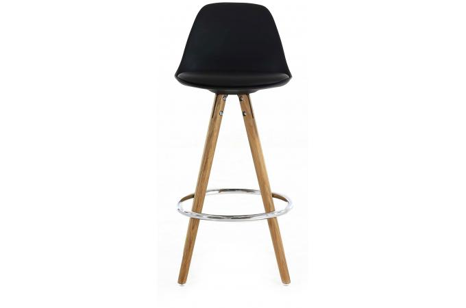 tabouret de bar scandinave noir terri design sur sofactory. Black Bedroom Furniture Sets. Home Design Ideas
