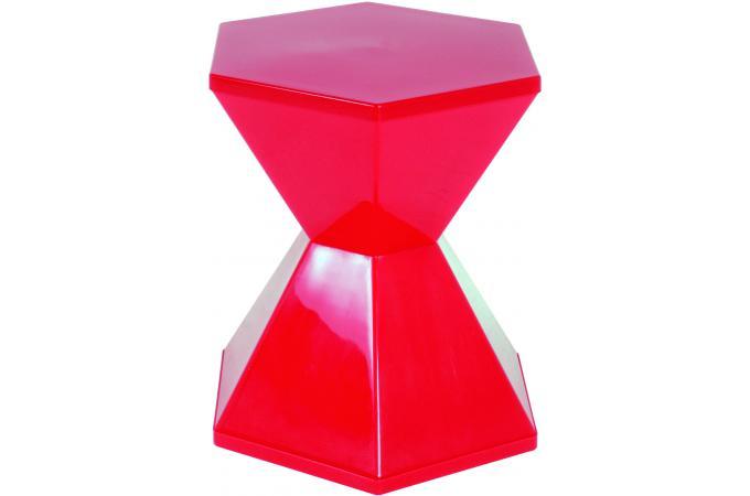 tabouret multi usages rouge diabolo design pas cher sur sofactory. Black Bedroom Furniture Sets. Home Design Ideas