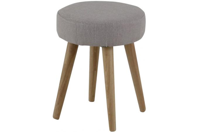 tabouret scandinave gris beige alwyn design sur sofactory. Black Bedroom Furniture Sets. Home Design Ideas