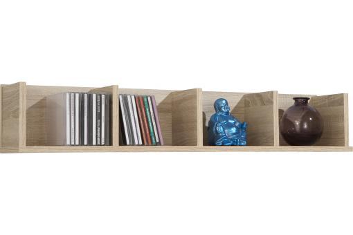 tag re murale horizontale 4 compartiments ch ne roam. Black Bedroom Furniture Sets. Home Design Ideas