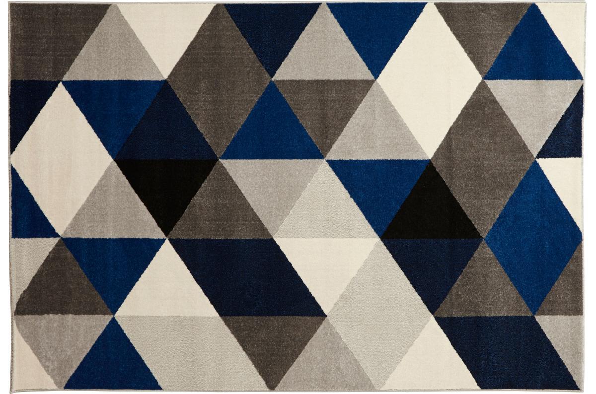 Tapis Bleu 160x230 Cm Hina Deco Design Sur Sofactory