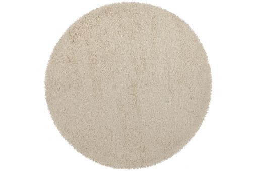 tapis rond cr me 160 x 160 x 3 cm chance d co design sur sofactory. Black Bedroom Furniture Sets. Home Design Ideas
