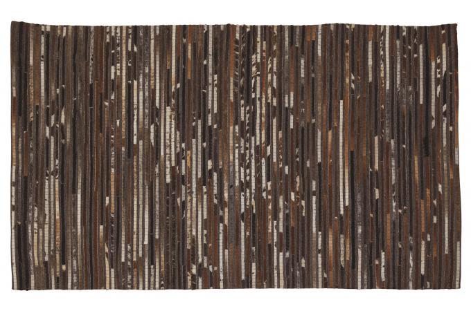 tapis 120x170 effet peau de vache gris napur d co design sur sofactory. Black Bedroom Furniture Sets. Home Design Ideas