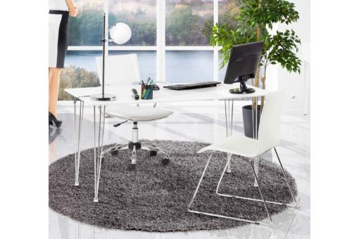 tapis rond 160 gris chance d co design sur sofactory. Black Bedroom Furniture Sets. Home Design Ideas