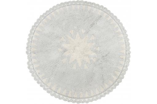 tapis rond toile naturel 110cm keane design sur sofactory. Black Bedroom Furniture Sets. Home Design Ideas