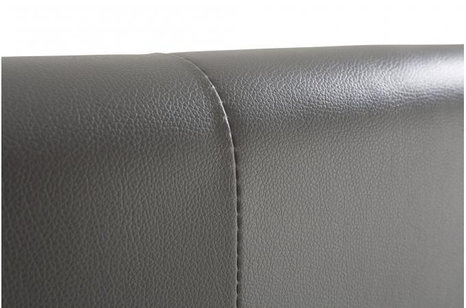 T te de lit capitonn e gris 140x190 orlena design sur - Tete de lit pas cher design ...