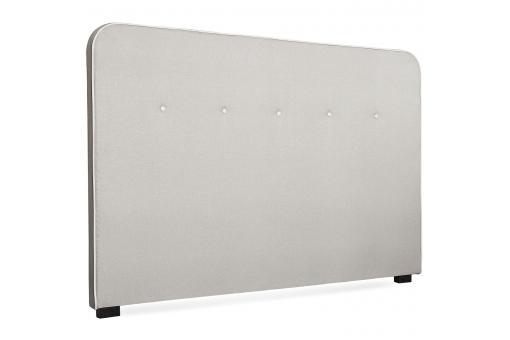 t te de lit scandinave 180cm tissu beige blanc gislev design pas cher sur sofactory. Black Bedroom Furniture Sets. Home Design Ideas