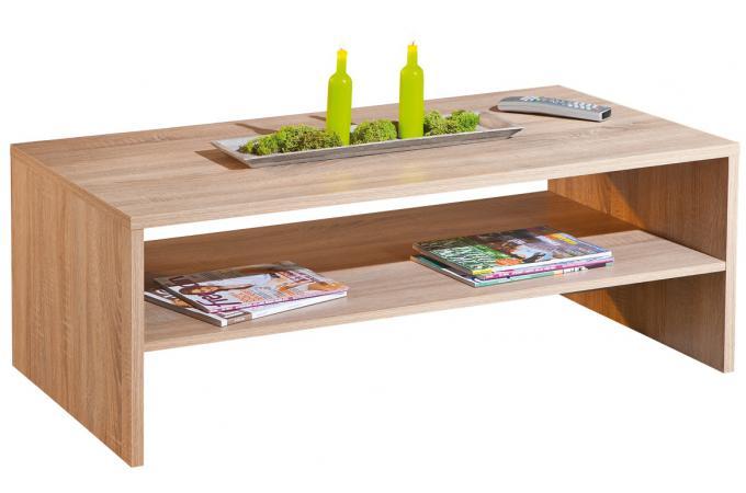 Table basse rectangulaire en bois 115 x 60 cm absoluto for Table basse design 60 cm