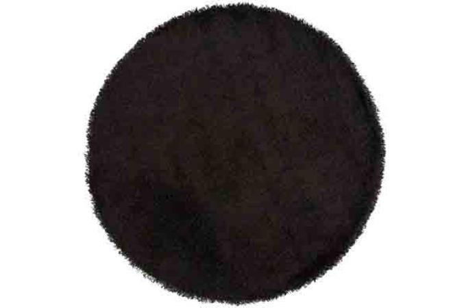 tapis rond 200 noir chance d co design sur sofactory. Black Bedroom Furniture Sets. Home Design Ideas