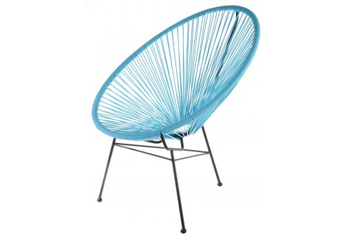 Fauteuil Zimaculto Turquoise