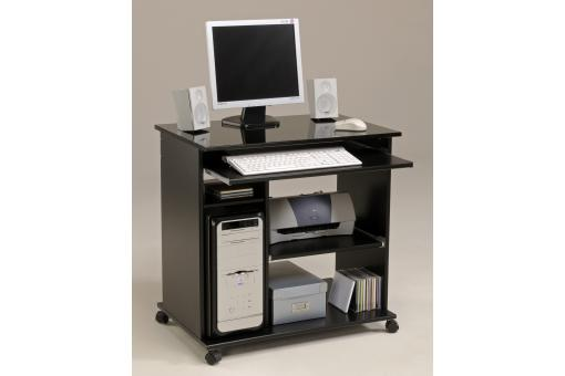 Bureau D'Ordinateur Pop Noir Brillant SHINY