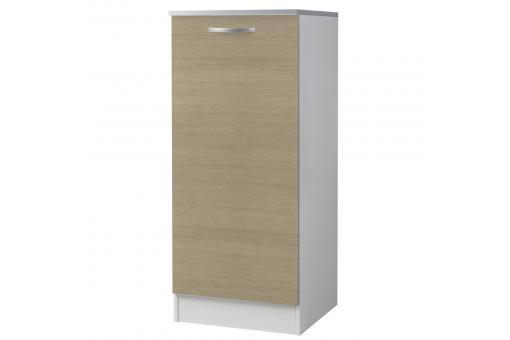 demi armoire de cuisine en panneau de particules ch ne 2. Black Bedroom Furniture Sets. Home Design Ideas