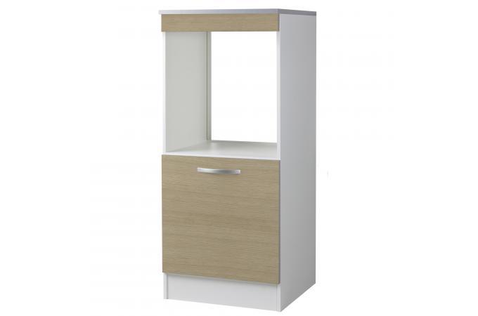 demi armoire de cuisine en panneau de particules ch ne. Black Bedroom Furniture Sets. Home Design Ideas