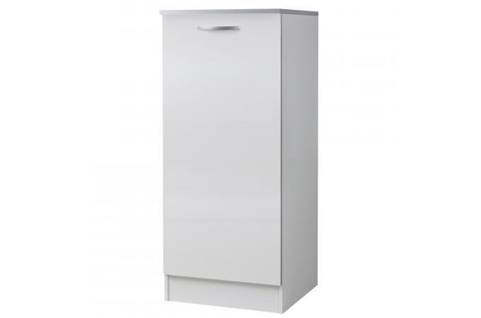 demi armoire de cuisine en panneau de particules blanc 2. Black Bedroom Furniture Sets. Home Design Ideas