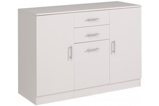 Meuble de rangement en imitation bois blanc gamble design for Imitation meuble design