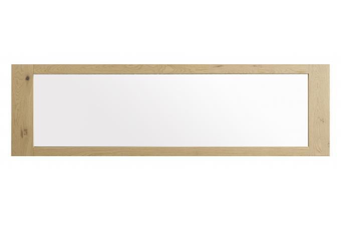 Miroir en Verre et en Panneau de particule Marron FLAVIE  ~ Miroir Bois Clair