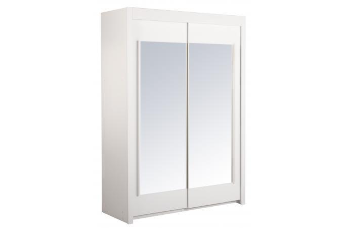 penderie blanches 2 portes coulissantes melissa design sur. Black Bedroom Furniture Sets. Home Design Ideas