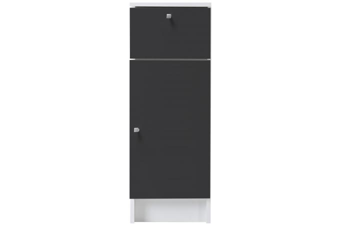meuble de salle de bain en imitation bois anthracite medicisse design sur sofactory. Black Bedroom Furniture Sets. Home Design Ideas