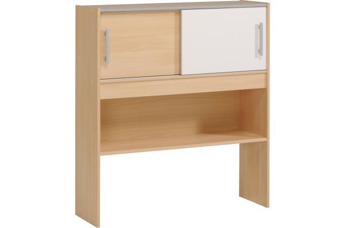 rangement encastrable au lit 90 x 200 cm zazou beige design sur sofactory. Black Bedroom Furniture Sets. Home Design Ideas