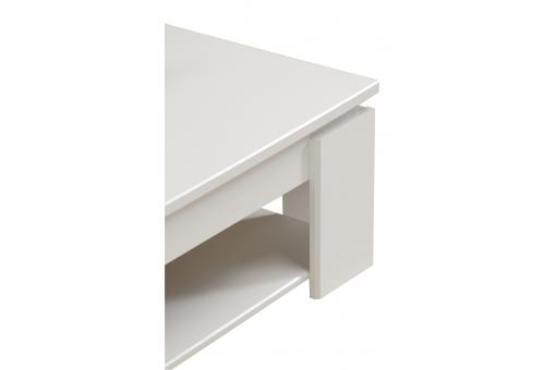 Table Basse Brillante En Blanc TERTIO Blanc PA90136-0000